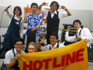 島村楽器 橿原店 ライブ HOTLINE2013 集合写真