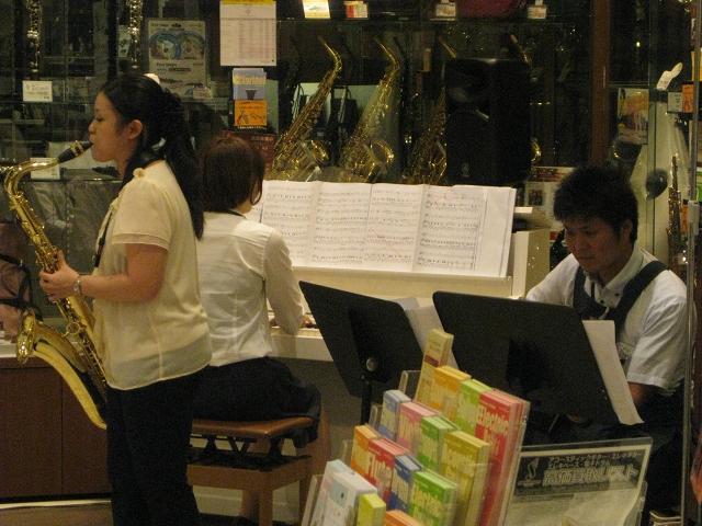 島村楽器 橿原店 イオンモール橿原 音楽教室 サックス ピアノ
