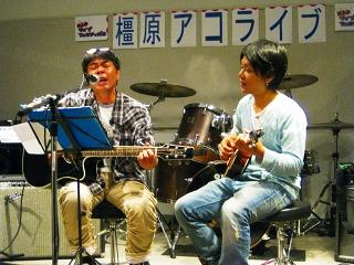 島村楽器 橿原店 アコギライブ 多川さん 柳田さん