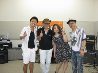 島村楽器 橿原店 HOTLINE2014 7月26日 集合写真