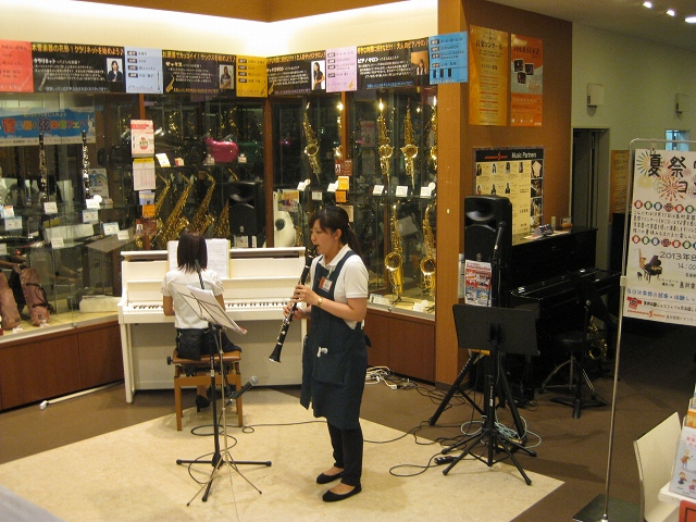 2013年夏祭りコンサート様子2
