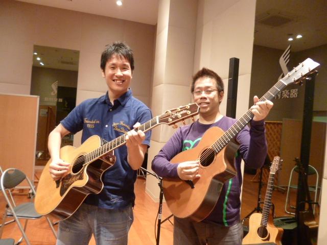 ツーショット! 左)山本さん 右)南澤さん