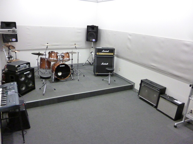店内スタジオ