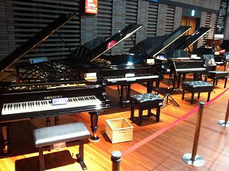 ピアノフェスタ会場