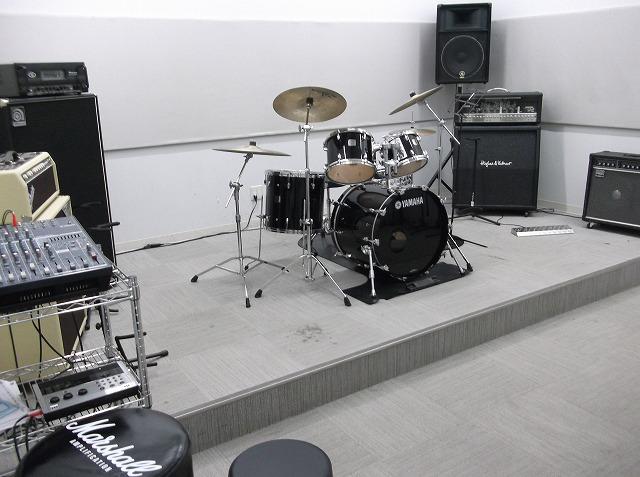 開催場所の店内スタジオ