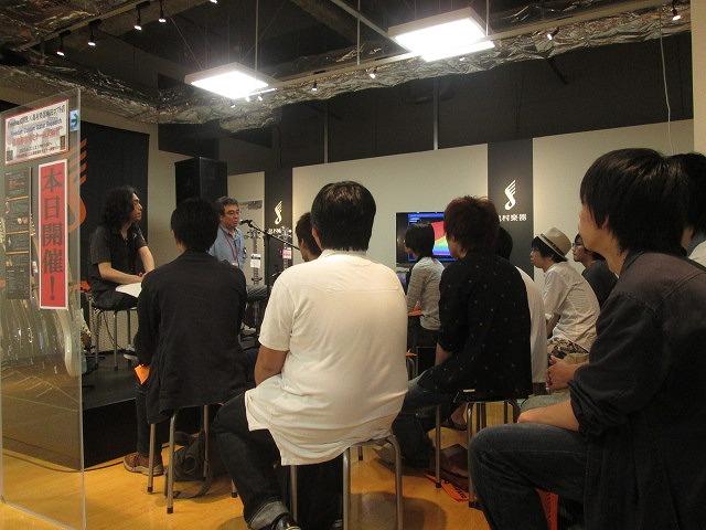 FreedomCGR徹底解剖セミナー @島村楽器梅田ロフト店