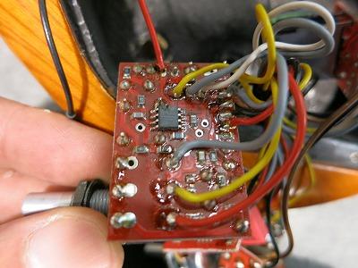 プリアンプ交換VOL回路確認