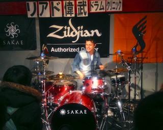 リアド偉武 ドラムクリニック