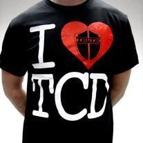I Love TCD Tシャツ