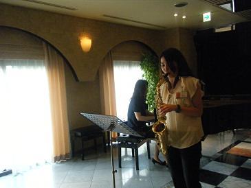 サックス×ピアノ
