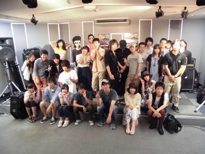 HL2014ショップライブ8/24集合写真