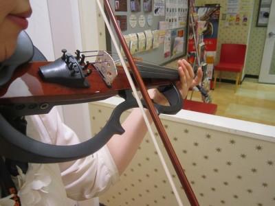 サイレントバイオリン