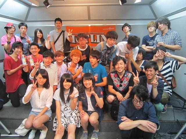 HOTLINE 2013 08/18 集合写真