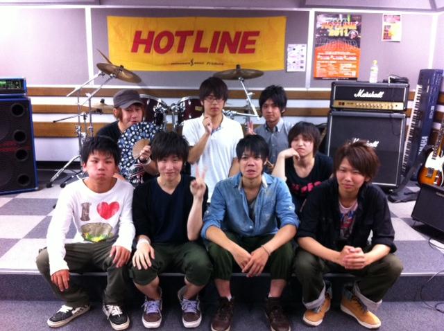 HOTLINE2011 集合写真
