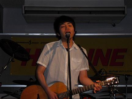 HOTLINE2010店ライブオーディションvol.8 及川 絢介さん