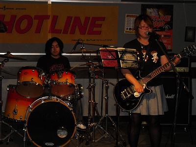 HOTLINE2010店ライブオーディションvol.8 Sunny Brown