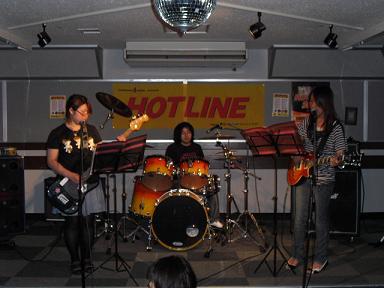 HOTLINE2010店ライブオーディションvol.8 ブラウンシュガー