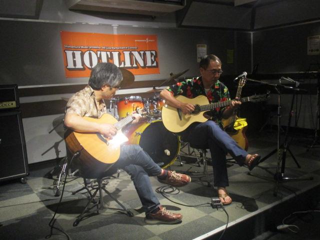 島村楽器 利府店 HOTLINE2014 アコパラ
