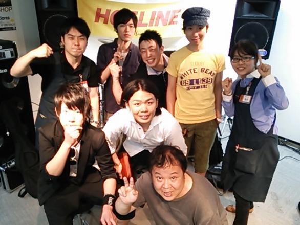 HOTLINE2013 6月9日ショップオーディションライブ終了!