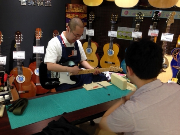 ギター・ベースメンテナンス会