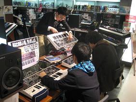 GAIA Sound Design Schoolの様子