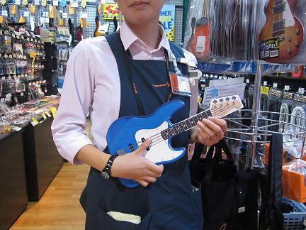 ギターうちわ【ベース】