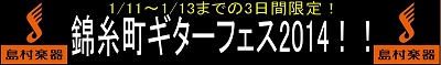 錦糸町ギターフェス2014