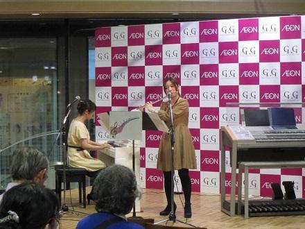 フルートインストラクター鈴木とピアノインストラクター松本による演奏