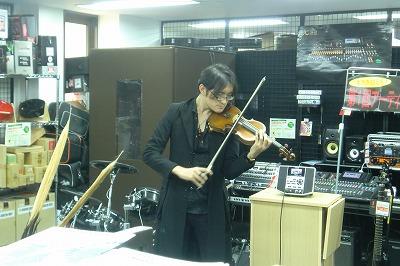 気品に溢れるバイオリンの演奏も!