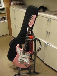 ギター置いてみた(1本)