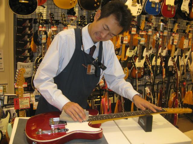 ギター担当高橋