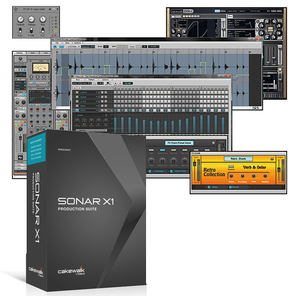 SONAR X1 Production Suite
