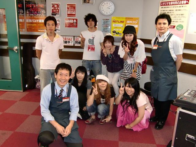 HOTLINE グリーンシティ川口店ライブ 8月1日(日)