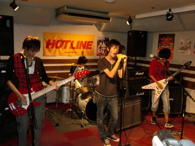 8月23(日) HOTLINE 川口グリーンシティ店ライブ 「REGRET」