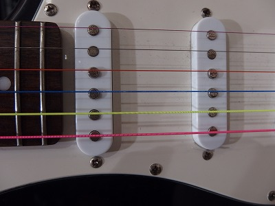 DR Rainbow guitar