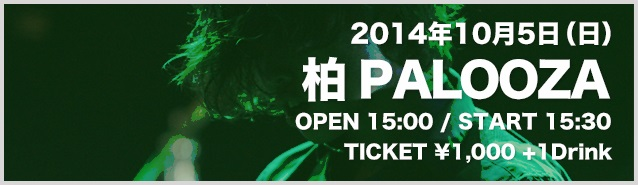 HOTLINE2014 千葉FINAL in 柏PALOOZA