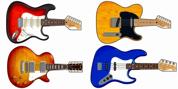 島村楽器オリジナル ギターうちわ