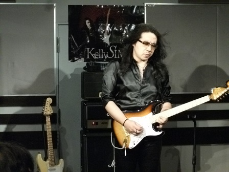 ケリー・サイモン 超絶ギタリスト養成ギプス セミナー