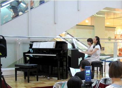 ニッケコルトンプラザの音楽教室
