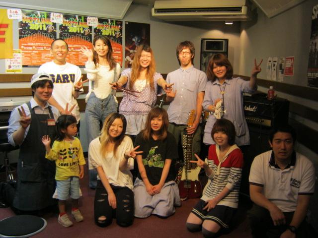 2011 6月 ホットライン店ライブ