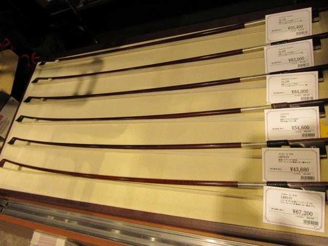 輸入ヴァイオリン弓もあります