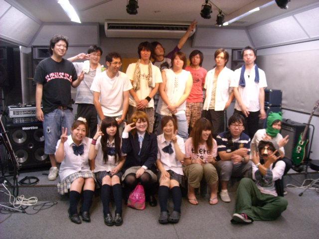 HOTLINE2010 vol.7参加バンドの皆様