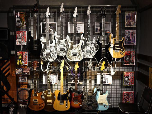 参加者のギター