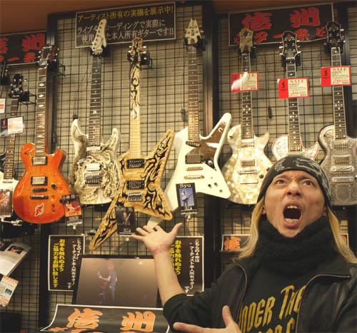 島村楽器松本店Syuさん所有ギター