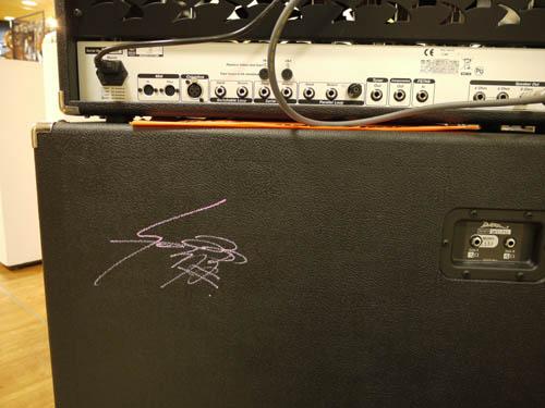 Syuさんのサイン