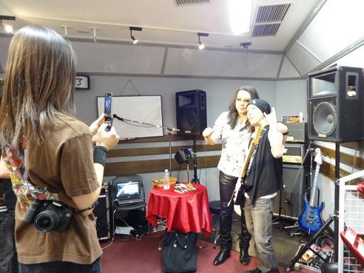 ケリー・サイモンさんセミナー撮影会。Yosukeさんがカメラマンで撮影してくださいました。