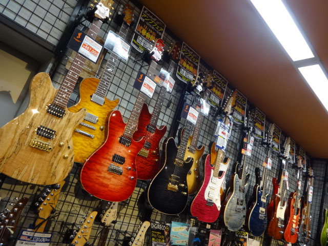 島村楽器松本パルコ店 自慢のギターコーナー