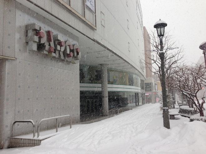 今シーズン一番の大雪となってしまいました