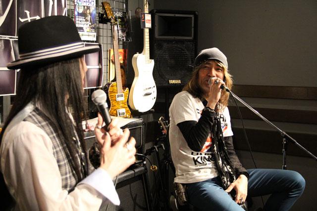 SHARAさん&小林さんのトークショー