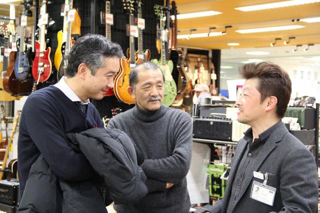 信州ギターメーカーの社長さん
